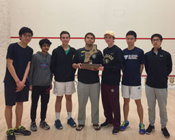 Squash Finishes Strong at New England Championships