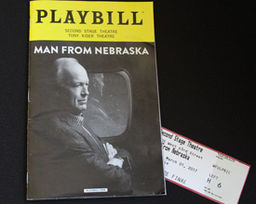 Nana Mensah '01 'Man From Nebraska' Now Thru Mar. 26