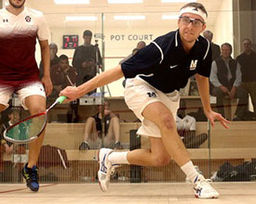Wyatt French '13 Earns High National Ranking in Collegiate Squash