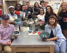 Students Contribute Handmade Bowls For Anti-Hunger Event