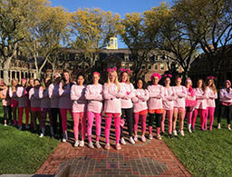Field Hockey Wins Play for the Cure Game