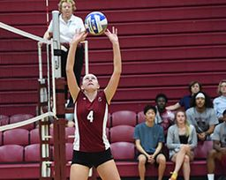 Girls Volleyball Sweeps Kingswood Oxford