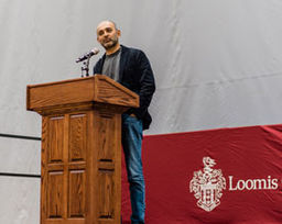 """Exit West"" Author Mohsin Hamid Globalization Convocation"