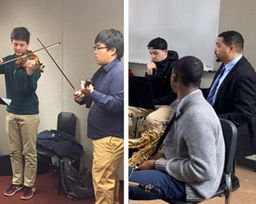 Guest Musicians Share Experience With Music Students