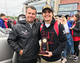 Zavalick '16 Wins National Championship with Wesleyan Men's Lacrosse