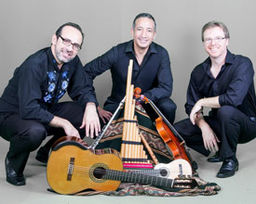 Elqui Trio in Hubbard Performance Hall Sept 24 at 7:30 pm