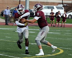 Offense Explodes as Boys Football Soars Past Exeter