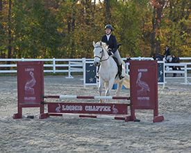 Equestrian Wins Third Straight Show