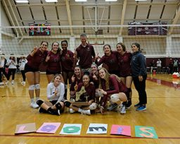 Volleyball Wins New England Championship