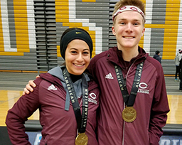 Sophie Elgamal '17 Earns All-American Honors in Cross Country