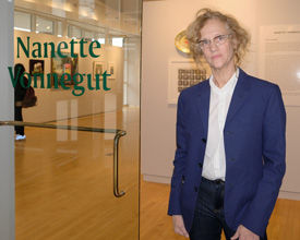 "Nanette Vonnegut ""Things, Places, Faces"" in Mercy Gallery Jan 10"