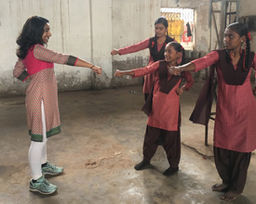 Norton Fellow Kavya Kolli Leads Self-Defense Course for Girls in India