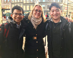 Pelican Model U.N. Alumni Connect with Loomis Chaffee Delegates at Harvard