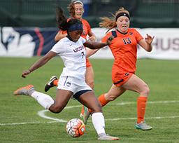 Liana Hinds '12 Signs Pro Contract with Swedish Soccer Team