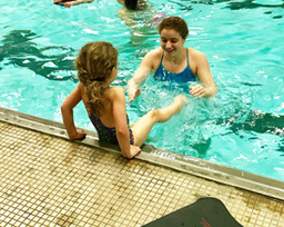 Student Volunteer Learn-to-Swim Program Continues On The Island
