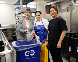 Campus Food Waste is Focus of Senior's Guided Environmental Research Project