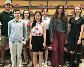 Science Department Honors Students at Annual Baxter Awards Ceremony