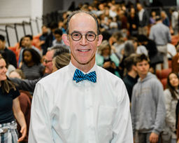 Jeff Scanlon '79 Named Teacher of the Year at 2019 All-School Awards