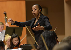 Orchestra Director Kalena Bovell Featured on Channel 3 News   News